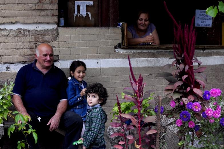 Грузинская семья