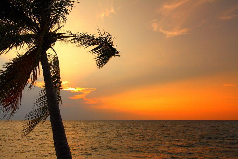 Закат на побережье Австралии