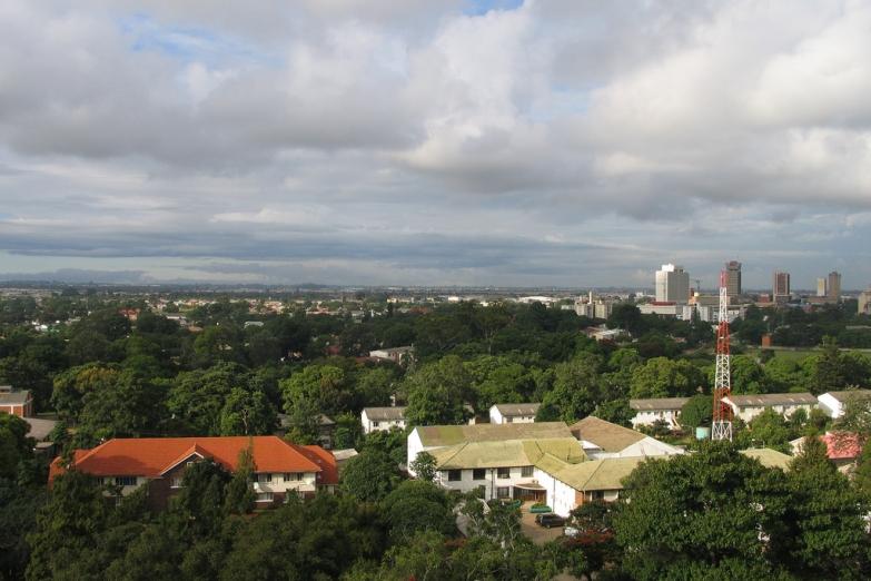 Панорама Лусаки