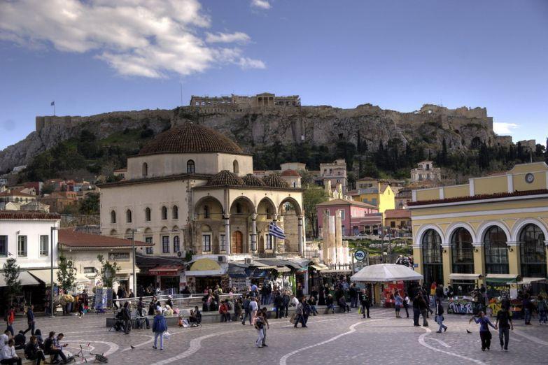 Площадь Монастыраки