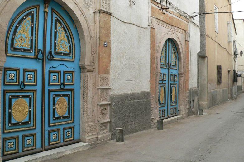 Улицы медины Туниса