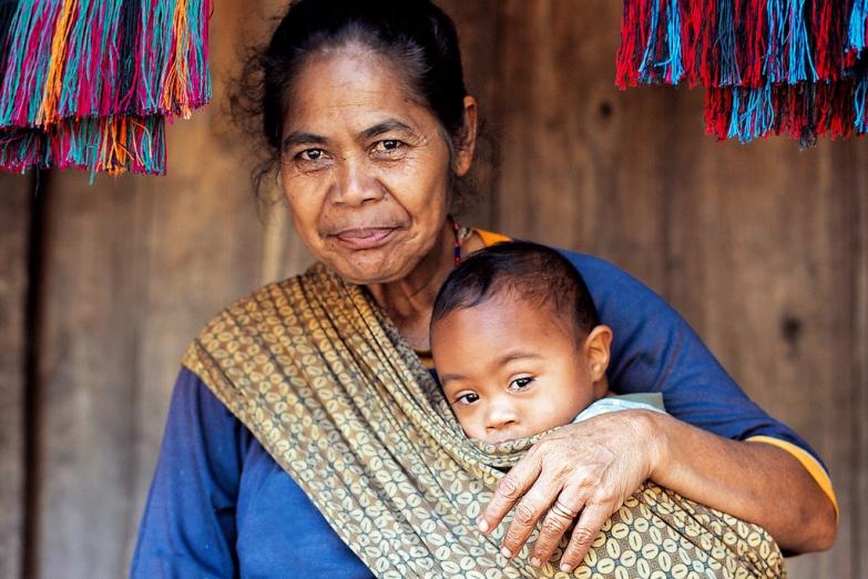 Женщина из племени нгада