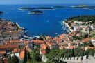 Панорама острова Хвар