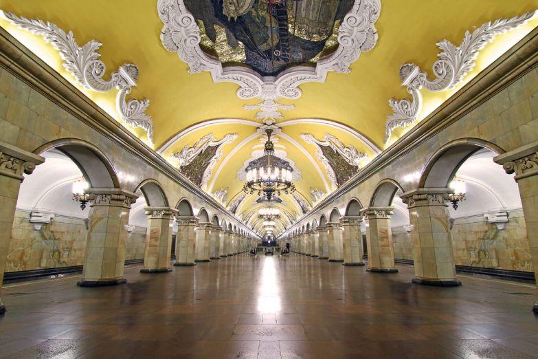 Станция метро Коломенская