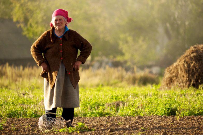 Белорусская крестьянка
