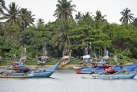 Рыбачьи лодки рядом с Галле