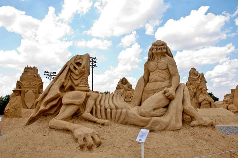 Фестиваль песочных скульптур