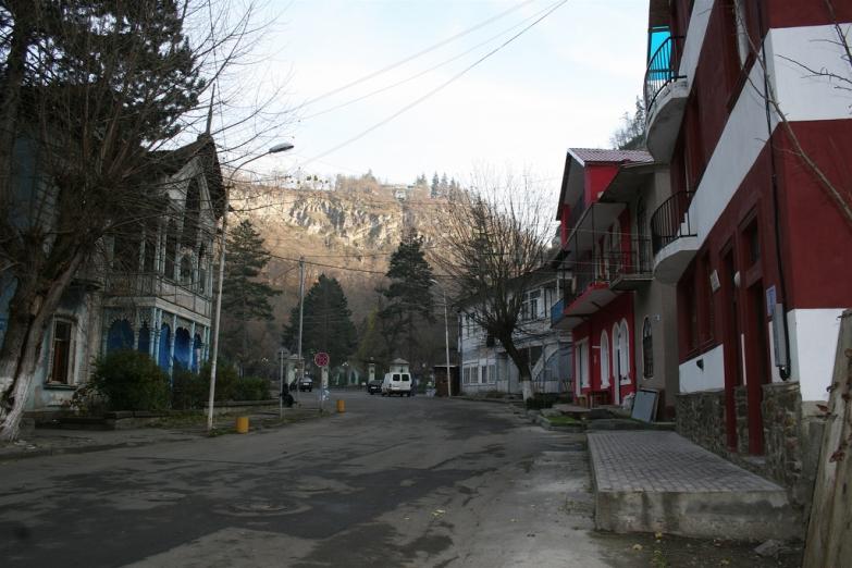 Улицы Боржоми