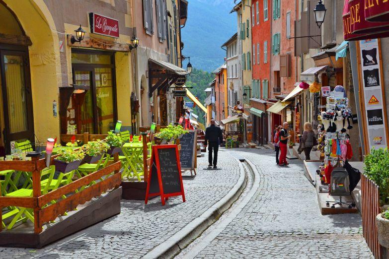 Типичный прованский городок