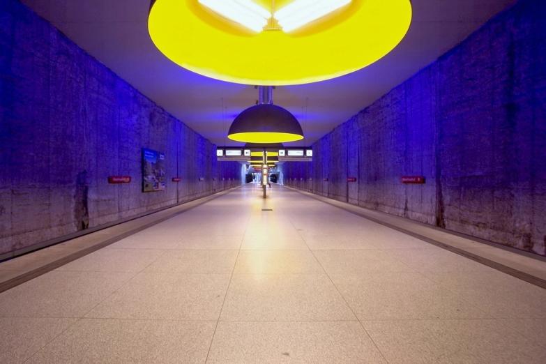 Станция Westfriedhof мюнхенского метро
