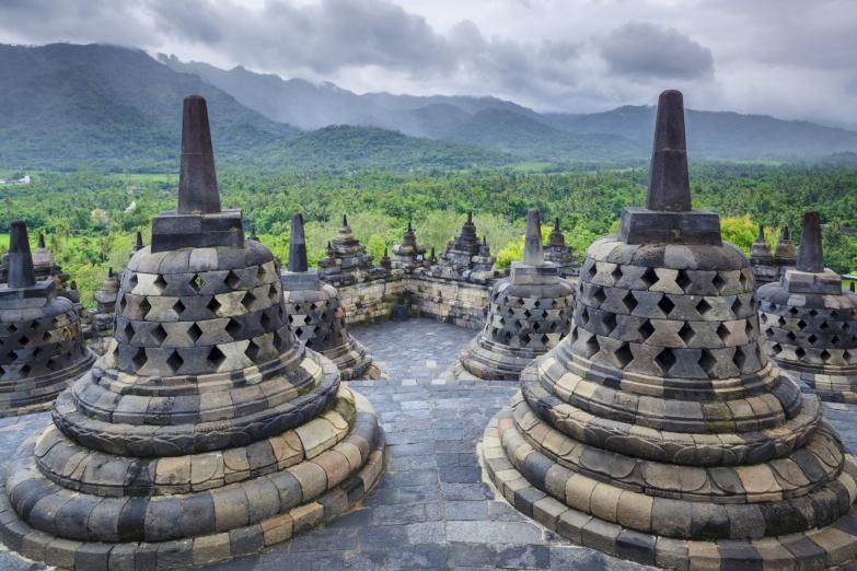 Храмовый комплекс Боробудур на Яве