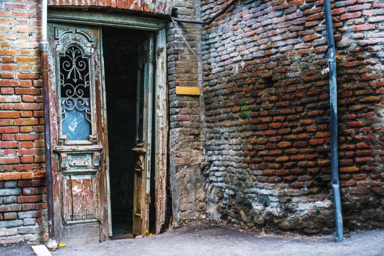 Старые дома Тбилиси