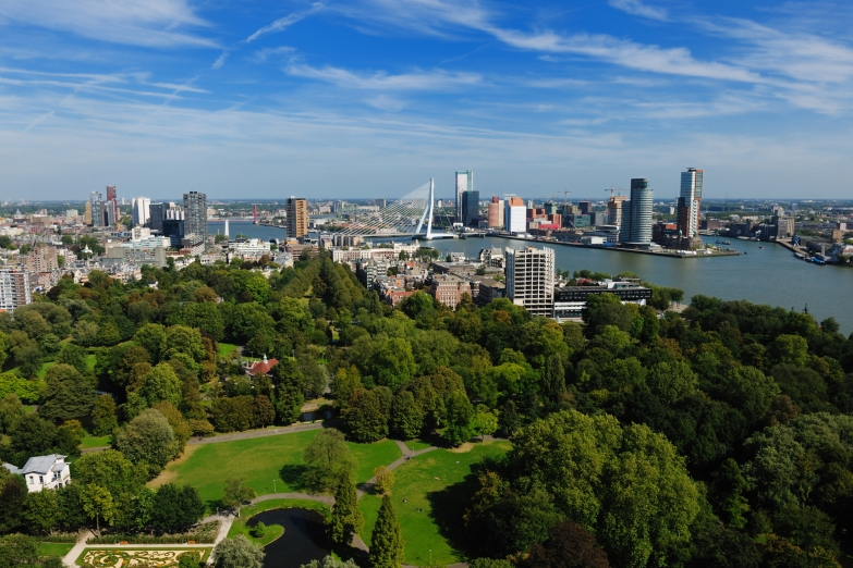 Вид на Роттердам