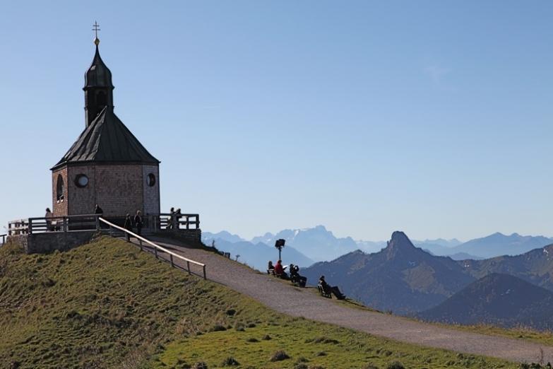 Церковь в Баварских альпах