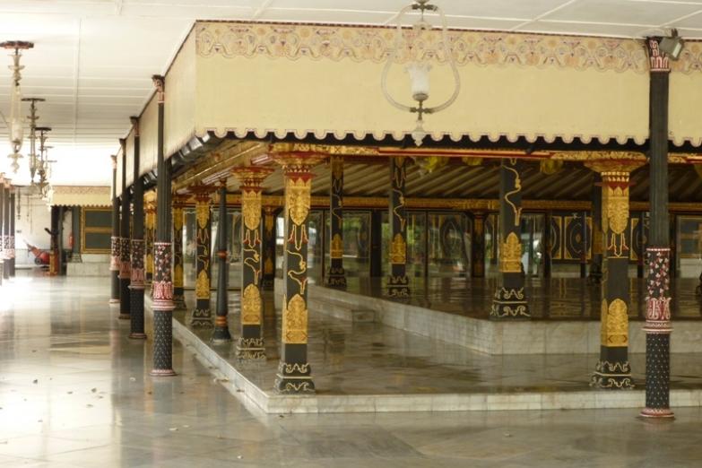 Золотой павильон в Султанском дворце