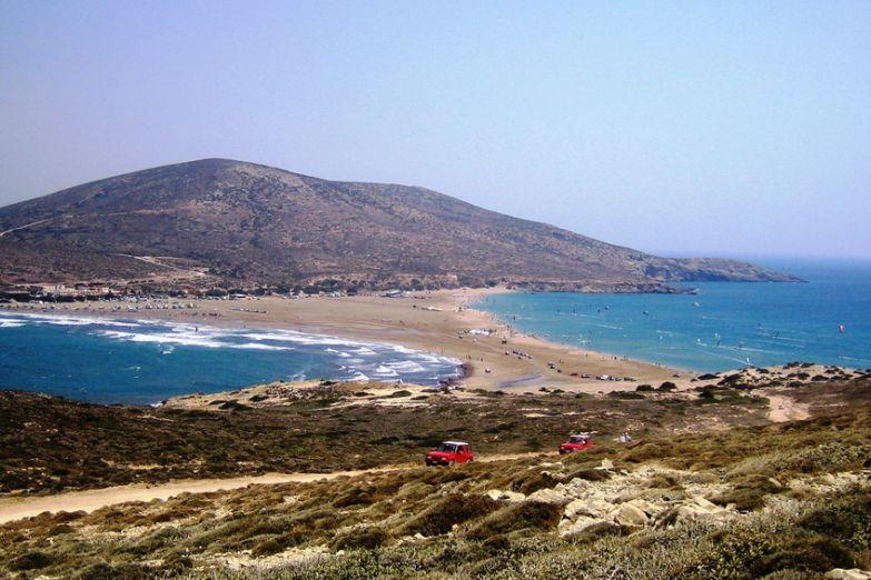 Пляж Prassonissi
