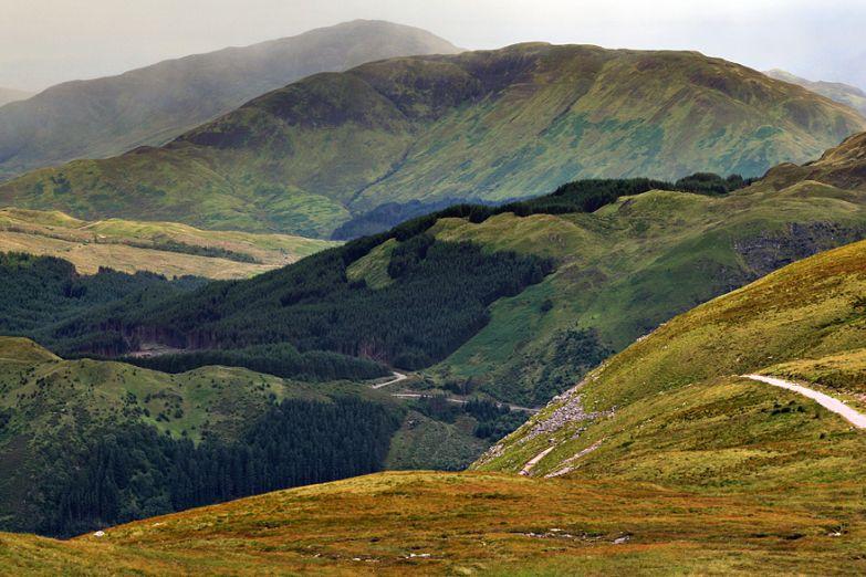Гора Бен Невис - высочайшая вершина Британских островов