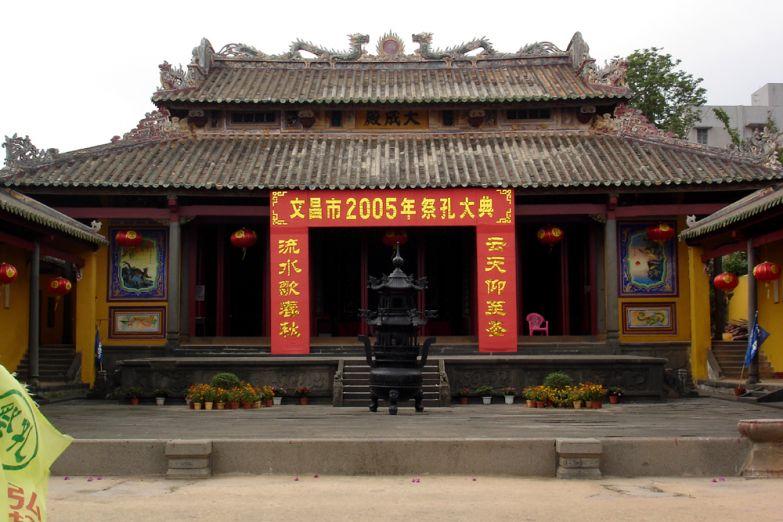 Китайский храм на Хайнане