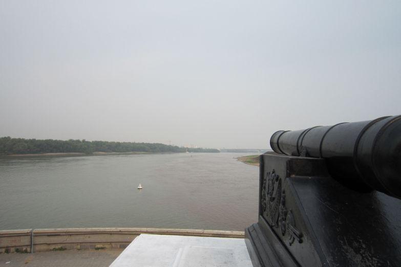Вид на реку Иртыш в Омске