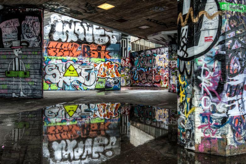 Лондоские граффити