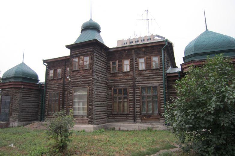 Деревянный дом в Омске