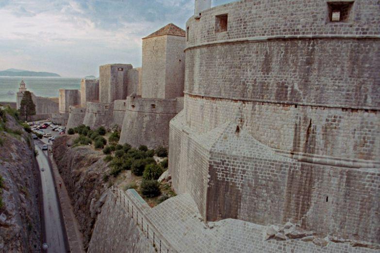 Крепостные стены Старого Дубровника
