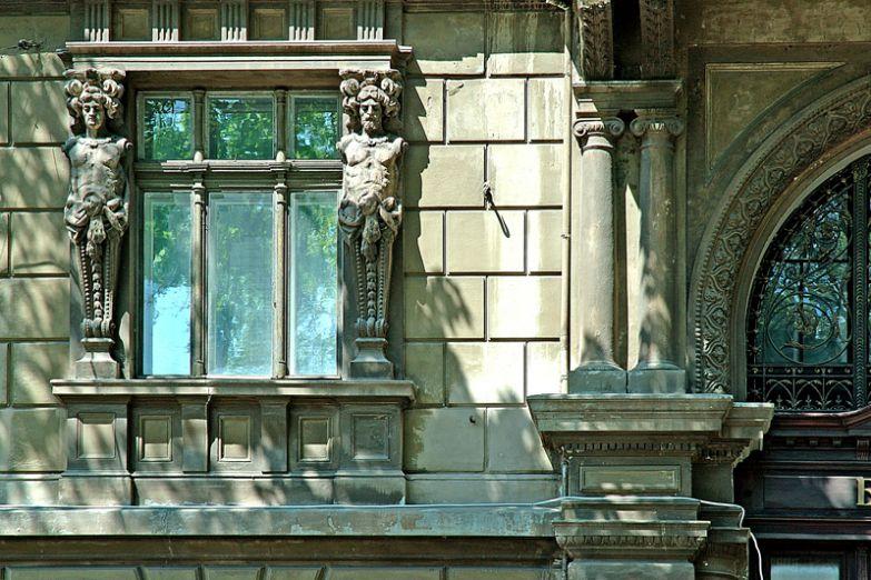 Фасад дома в Одессе