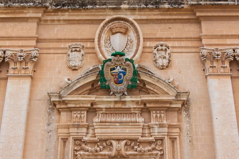 Деталь входа в Кафедральный Собор Св. Павла