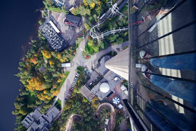 Вид с обзорной башни Näsinneula tower