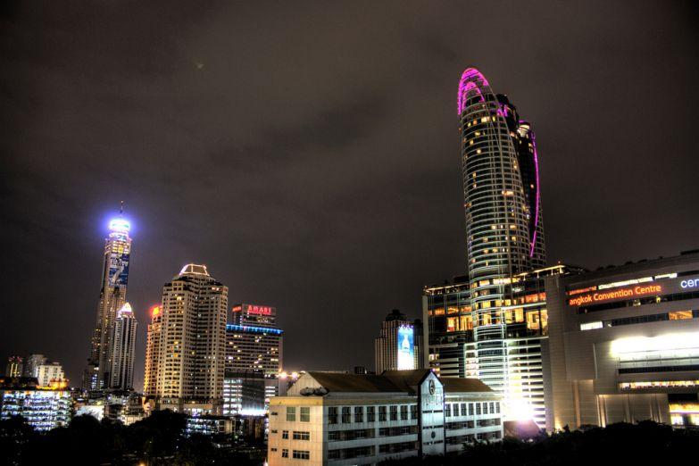 Небоскреб Байок Скай в Бангкоке
