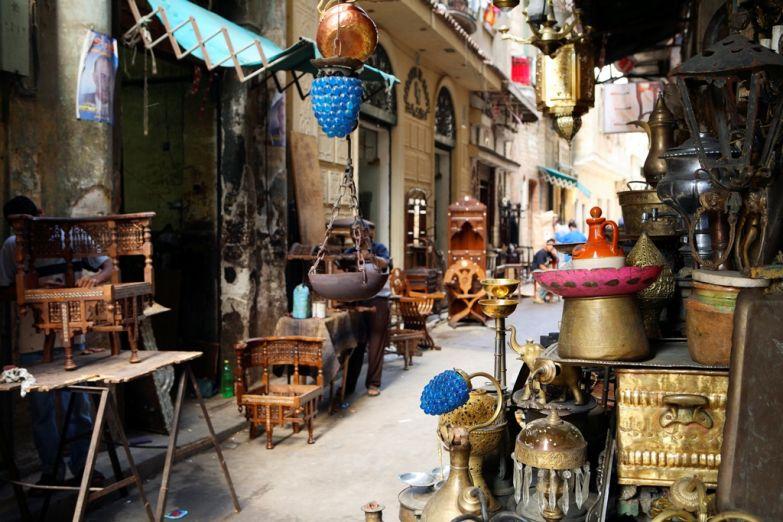 Арабская торговая улица