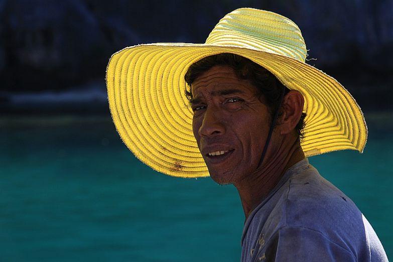 Местный рыбак