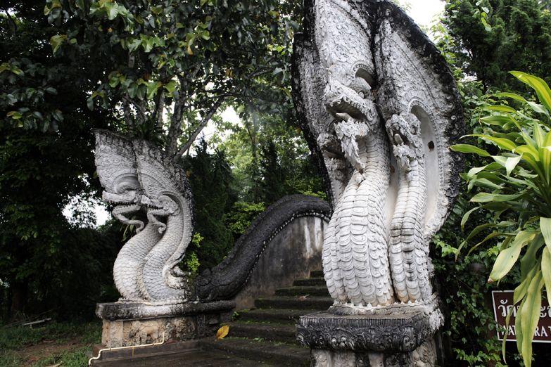 Деталь храма в Чианг Рай