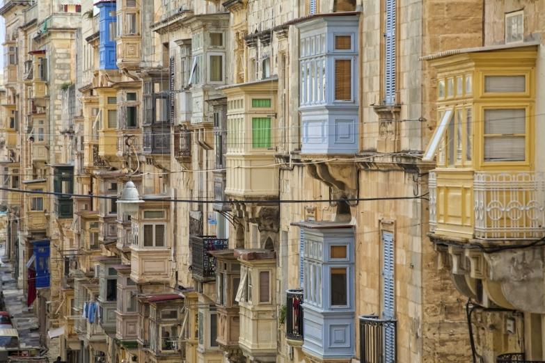 Балконы Старого города
