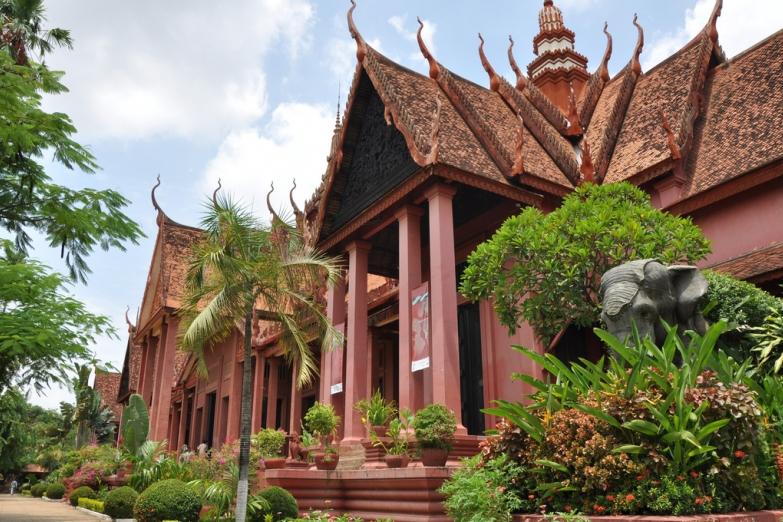 Национальный музей в Пномпене