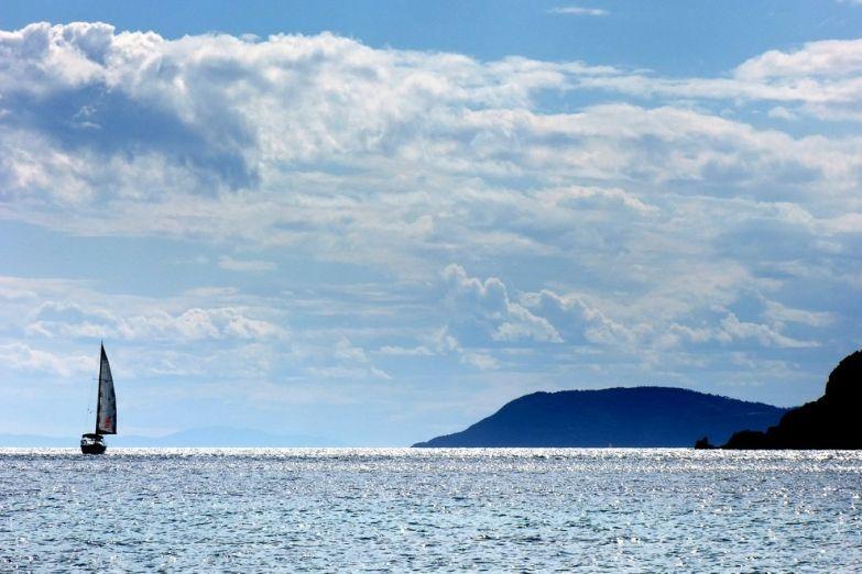 Вид на Эгейское море с Халкидиков