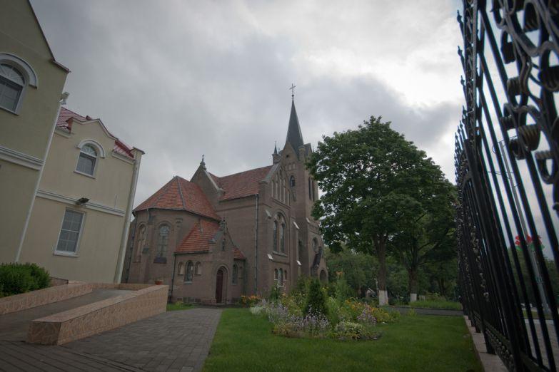 Католический костел в Витебске