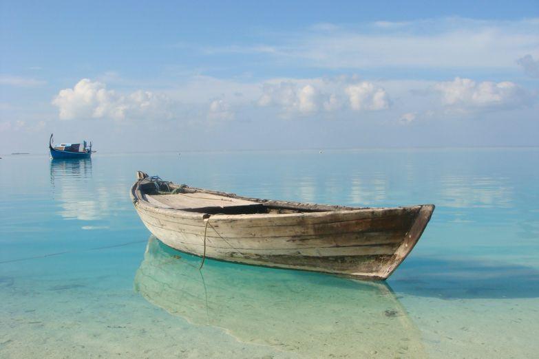 Лодки заменяют на Мальдивах все виды транспорта