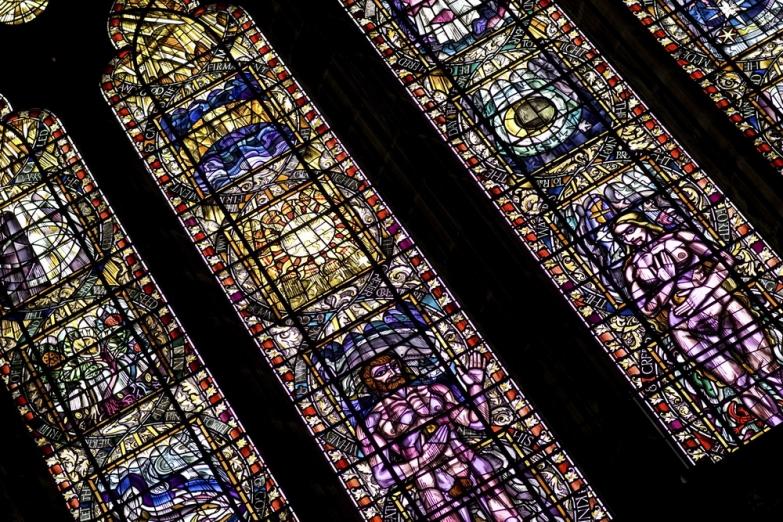 Витражи в Кафедральном соборе Глазго