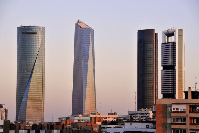 Современные бизнес центры в Мадриде