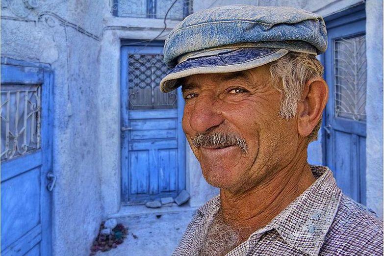 Житель Санторини