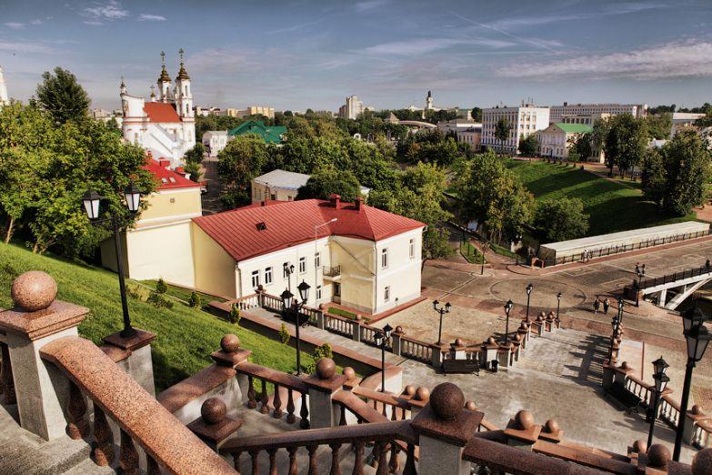 Вид на Витебск