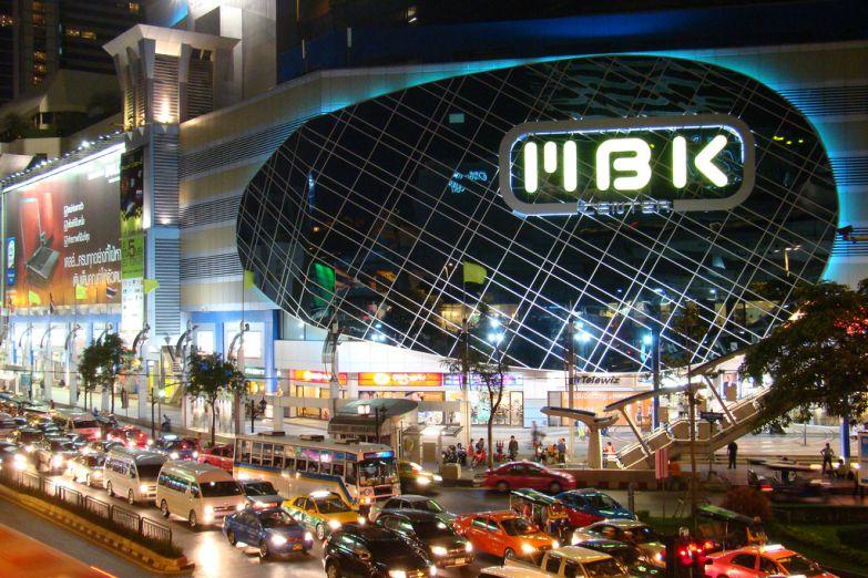 Популярный торговый центр в Бангкоке