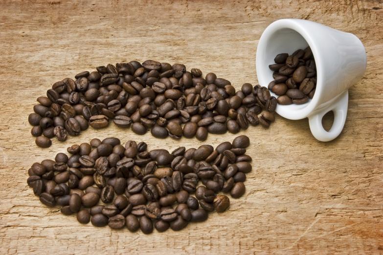 Зерна кофе с Явы
