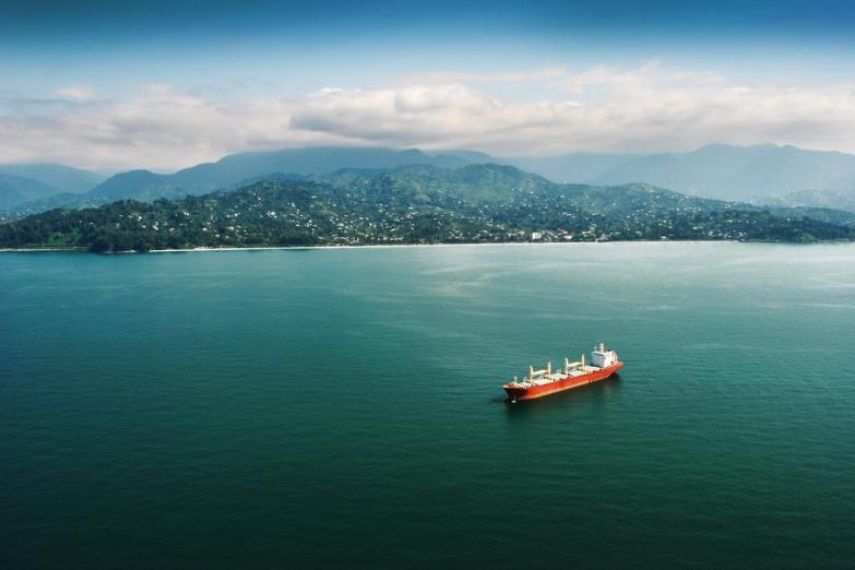 Вид на побережье Батуми