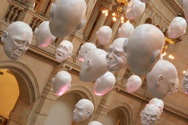 Инсталляция в одном из музеев Глазго
