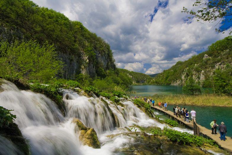 Парк Плитвицкие озера
