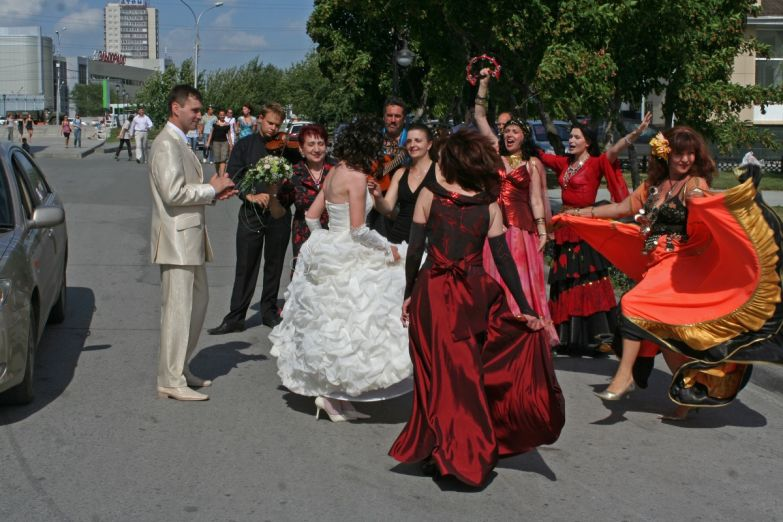 Цыганский ансамбль на свадьбе в Новосибирске