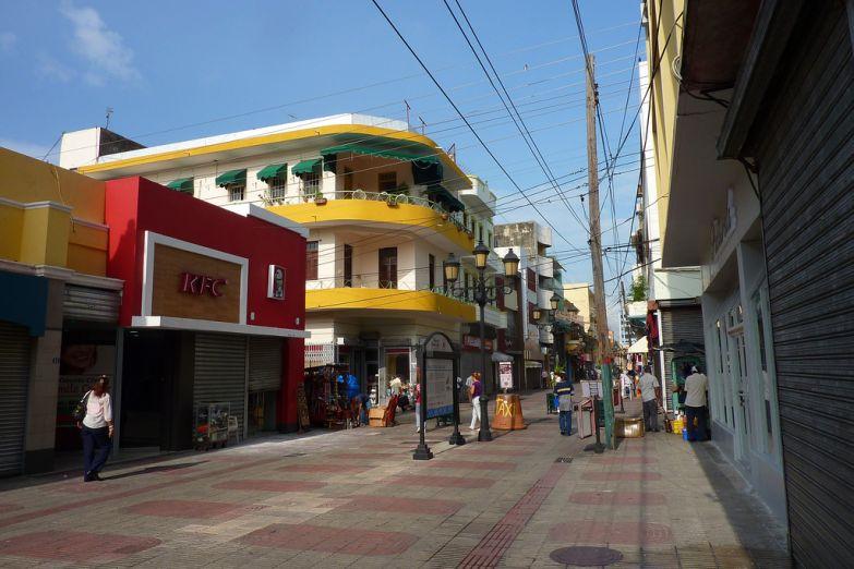 Улица в Санто-Доминго