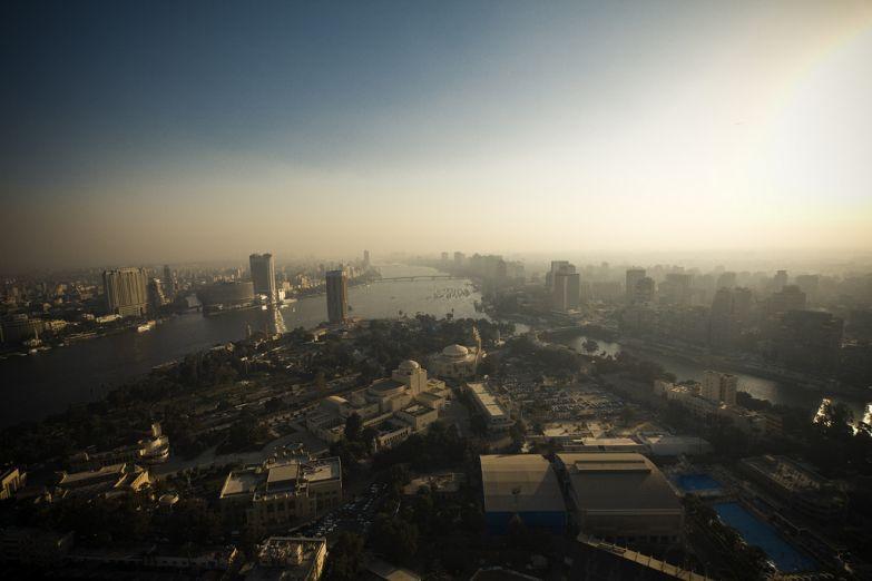 Вид с Каирской башни